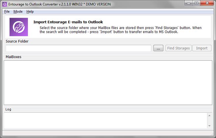 Entourage to Outlook Converter